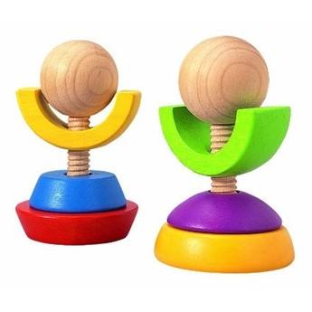 Motorické a didaktické hračky - Šroubovací věže - 2 ks
