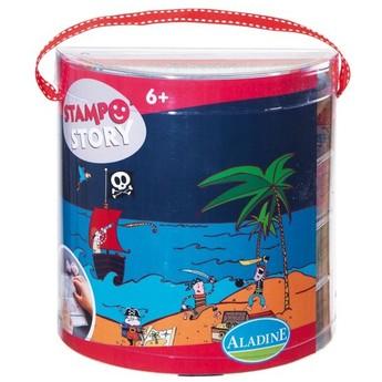 Výtvarné a kreativní hračky - Výtvarný kufřík Piráti