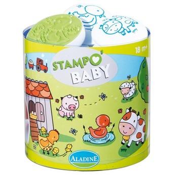 Výtvarné a kreativní hračky - Dětská razítka Domácí zvířátka - od 18ti měsíců