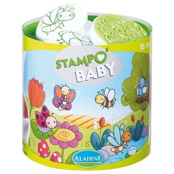 Výtvarné a kreativní hračky - Dětská razítka Broučci - od 18ti měsíců