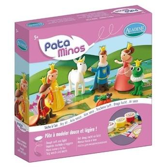 Výtvarné a kreativní hračky - Sada modelín s návodem a herním plánem Pohádka - hrací sada