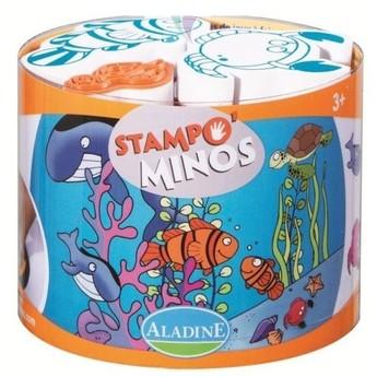 Výtvarné a kreativní hračky - Dětská razítka velká Mořská zvířátka