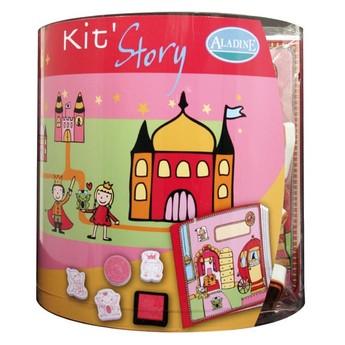 Výtvarné a kreativní hračky - Výtvarný kufřík Vílí svět