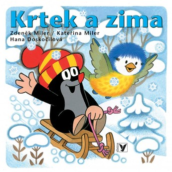 Leporelo Krtek a zima 12 stran