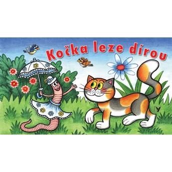 Pro nejmenší - Leporelo Kočka leze dírou