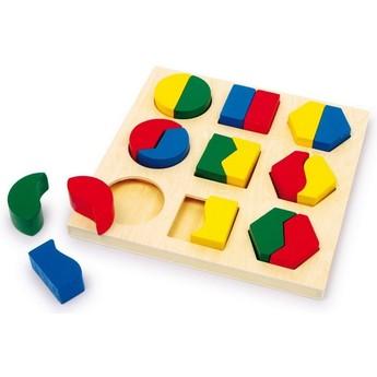 Motorické a didaktické hračky - Geometrické tvary II