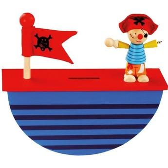 Pro kluky - Pokladnička – pirát