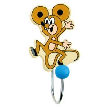 Dětský pokojíček - Dřevěný věšák Myška