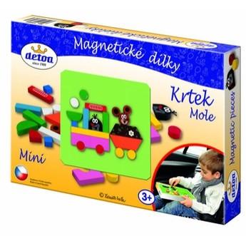 Puzzle - Magnetické dílky Krtek MINI