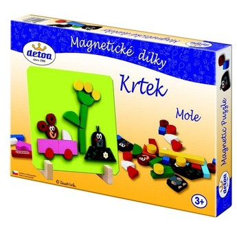 Puzzle - Magnetické dílky Krtek