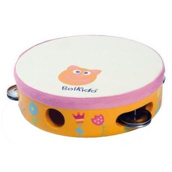 Dětské hudební nástroje - Tamburína Květiny