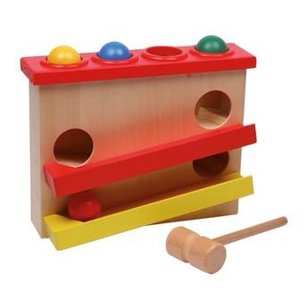 Motorické a didaktické hračky - Zatloukačka Kuličková dráha