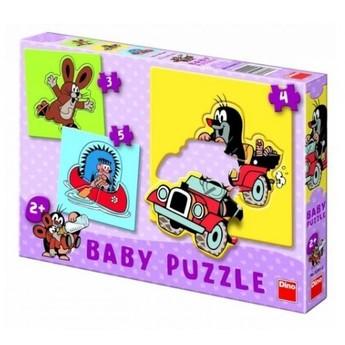 Puzzle - Dětské puzzle Krteček