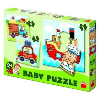 Puzzle - Dětské puzzle Dopravní prostředky