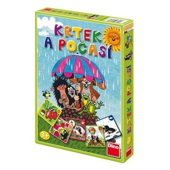 Hry a hlavolamy - Společenská hra Krtek a počasí