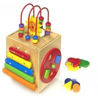 Motorické a didaktické hračky - Aktivní kostka slunce