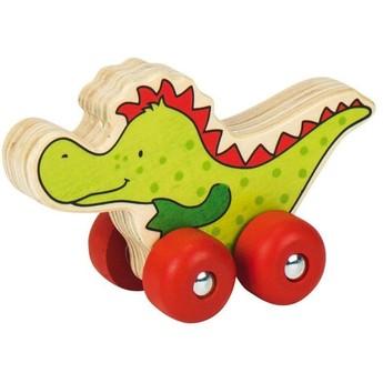 Pro nejmenší - Zvířátka na kolečkách – Krokodýl