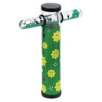 Kaleidoskop s magickou hůlkou – Kytičky zelené