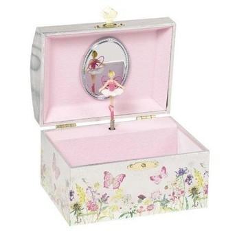 Pro holky - Hrací skříňka šperkovnice – Víla