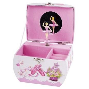 Pro holky - Hrací skříňka kabelka – Balerina