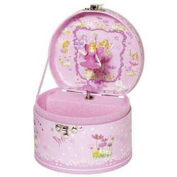 Pro holky - Hrací skříňka šperkovnice - Víla, Labutí jezero