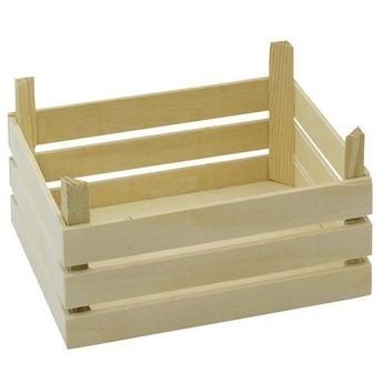 Pro holky - Prázdná dřevěná přepravka