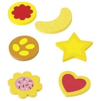 Pro holky - Cukroví pro dětský krámek a kuchyňku, 6 dílů