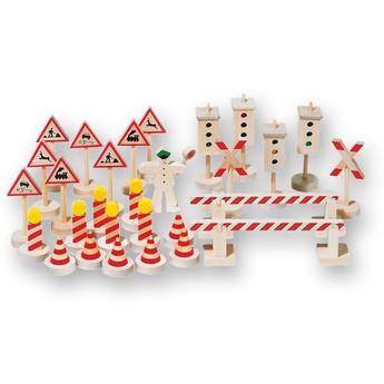 Pro kluky - Dopravní značení s nastavitelnými semafory, 29 dílů