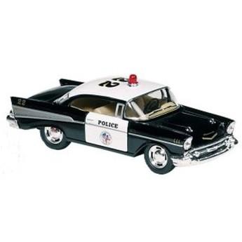 Pro kluky - Autíčko se zpětným natahováním Chevrolet Bel Air 1:40, černé