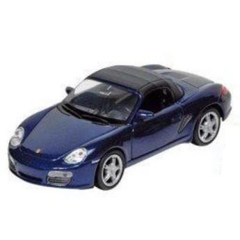 Autíčko se zpětným natahování Porsche 1:34, modré