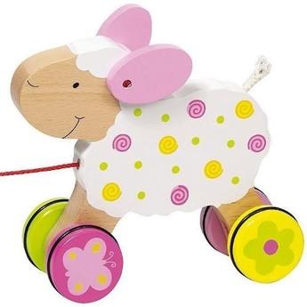 Pro nejmenší - Tahací hračka ovečka Zuzka