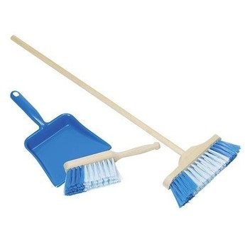 Pro holky - Smetáček, lopatka a smeták – modrá sada
