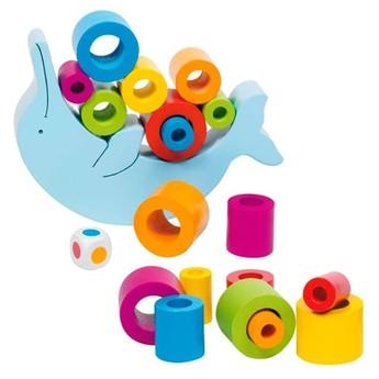Motorické a didaktické hračky - Dovednostní hra – Balanční delfín