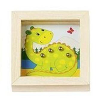 Motorické a didaktické hračky - Kuličky na trpělivost zvířátka - Dinosaurus