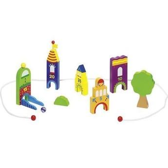 Hračky na ven - Hra s kuličkami – Kuličkové město