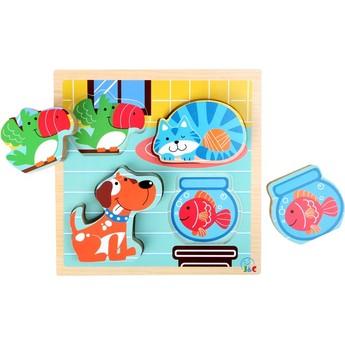 Puzzle - Puzzle Domácí zvířata