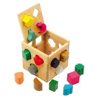 Motorické a didaktické hračky - Skládačka z kostek