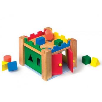 Motorické a didaktické hračky - Vkládací hrad