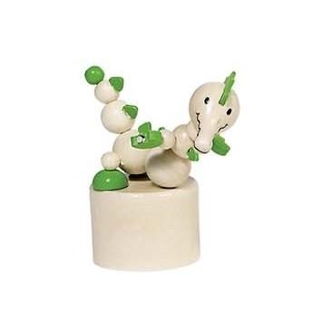 Motorické a didaktické hračky - Mačkací figurky zvířátka Afrika - Krokodýl