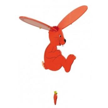 Dětský pokojíček - Dřevěný létající zajíc