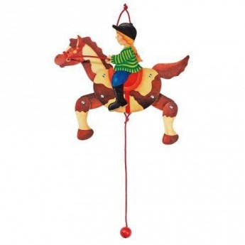 Dětský pokojíček - Roztahovačka – Holka na koni