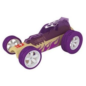 Pro kluky - Závodní autíčko Hape Mini Hot Rod II