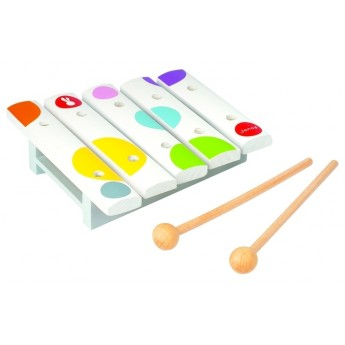 Dětské hudební nástroje - Mini xylofon