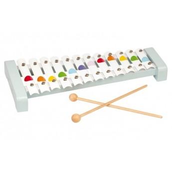 Dětské hudební nástroje - Železný xylofon