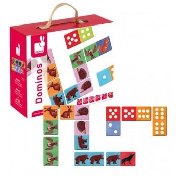 Hry a hlavolamy - Domino Lesní zvířátka