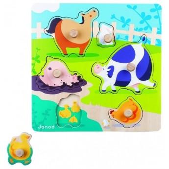 Puzzle - Puzzle Život na farmě