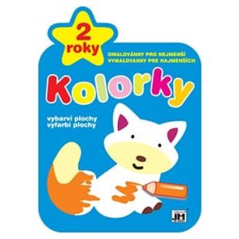 Výtvarné a kreativní hračky - Omalovánky kolorky - Liška