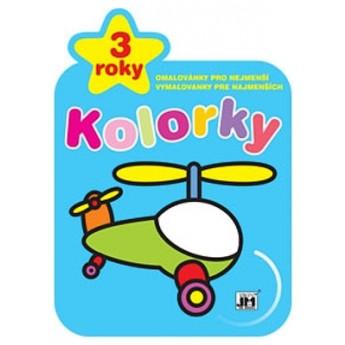 Výtvarné a kreativní hračky - Omalovánky kolorky - Vrtulník
