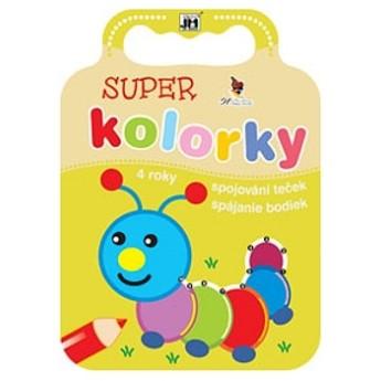 Výtvarné a kreativní hračky - Omalovánky kolorky - Spojování teček
