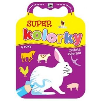 Výtvarné a kreativní hračky - Omalovánky kolorky - Zvířata